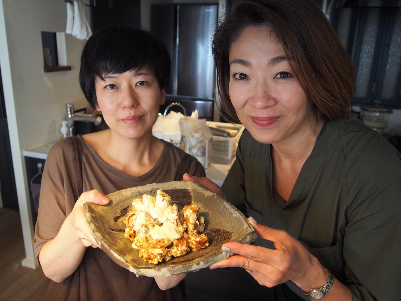 画像10: 鶏のから揚げ チーズと柚子胡椒マヨネーズ絡め