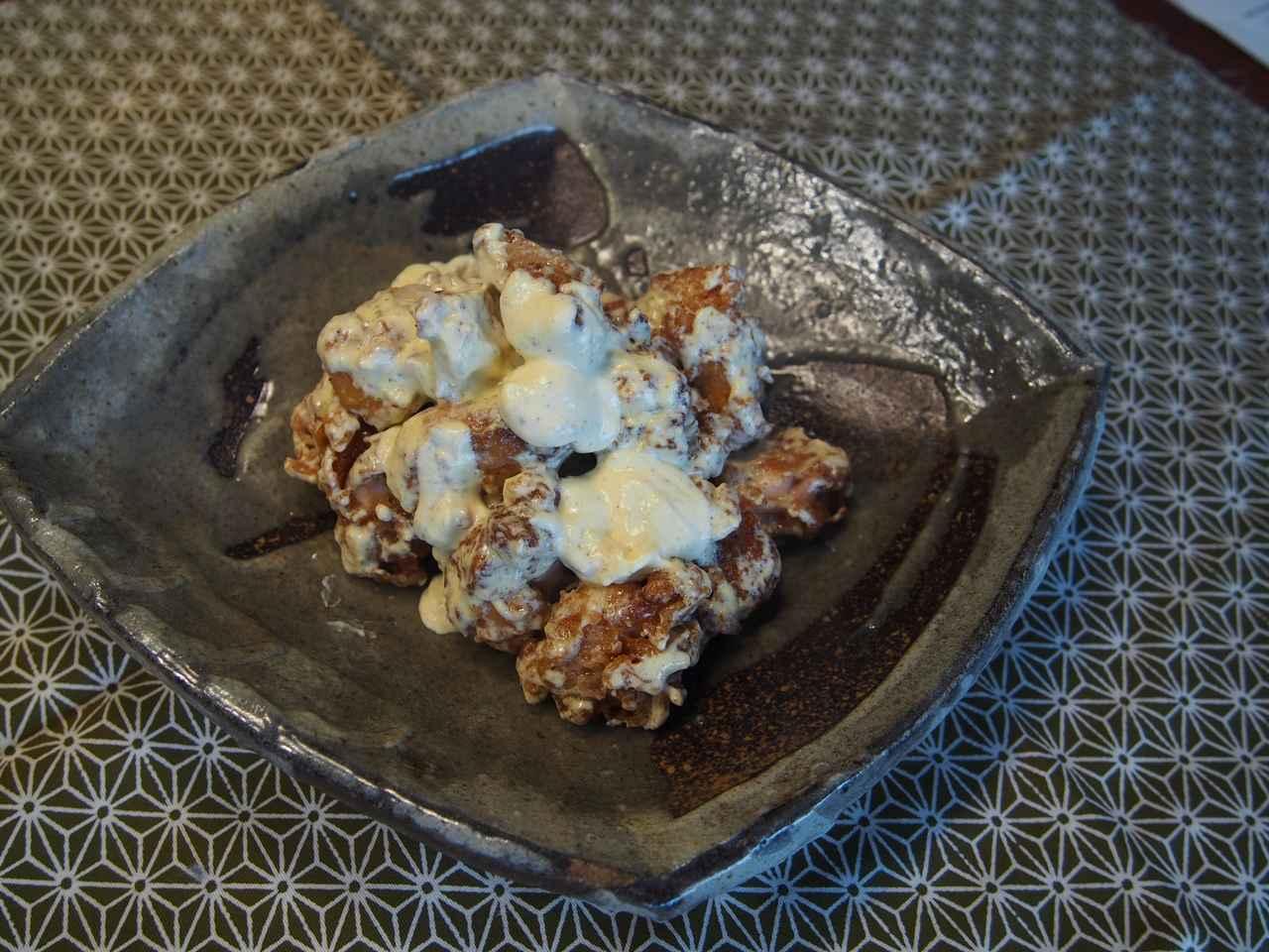 画像8: 鶏のから揚げ チーズと柚子胡椒マヨネーズ絡め
