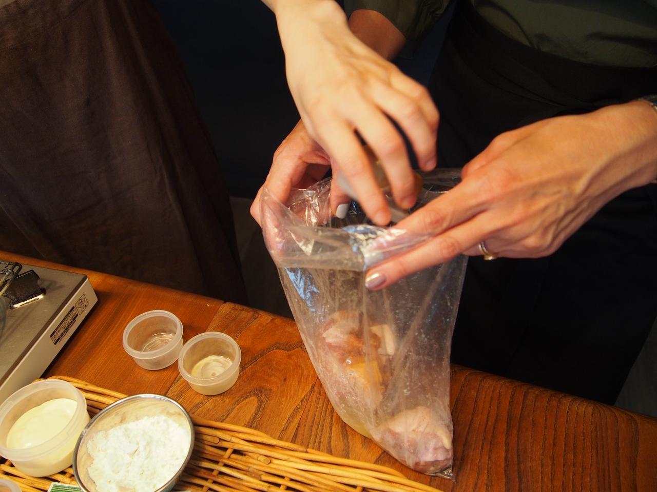 画像2: 鶏のから揚げ チーズと柚子胡椒マヨネーズ絡め