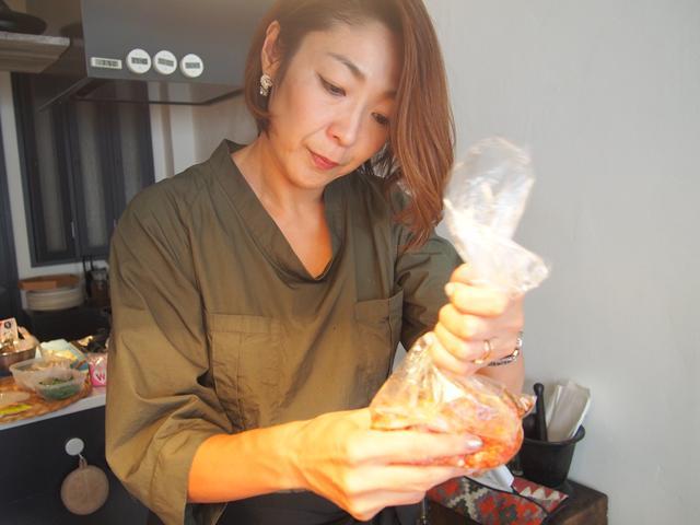 画像3: チーズ入り 中華風蒸しハンバーグ