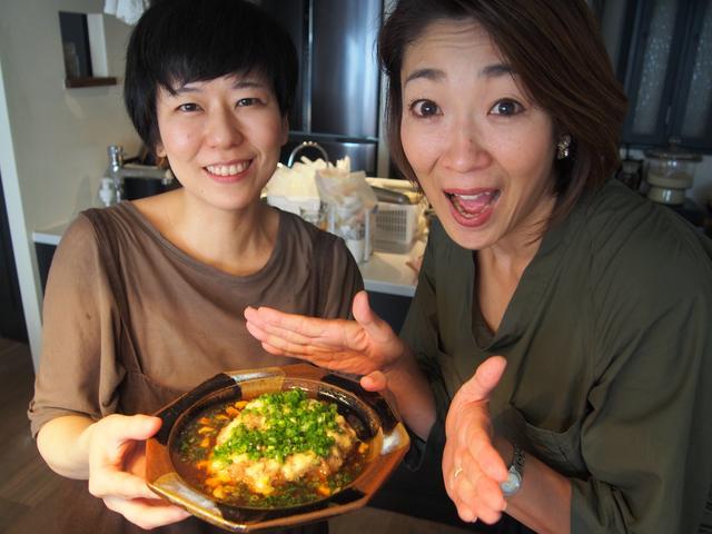 画像10: チーズ入り 中華風蒸しハンバーグ
