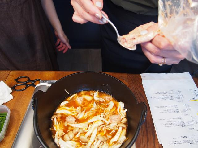画像4: 韓国風肉団子のスープ煮 チーズ乗せ