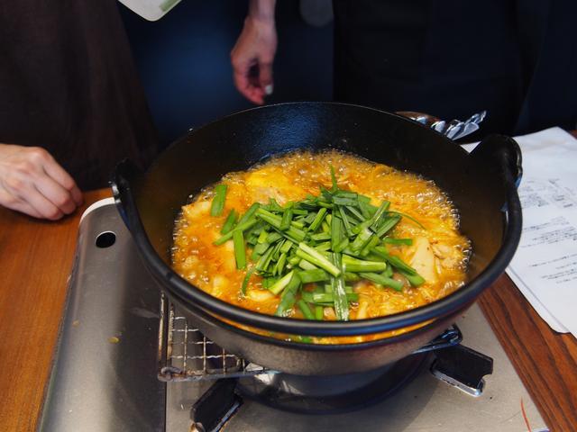 画像5: 韓国風肉団子のスープ煮 チーズ乗せ