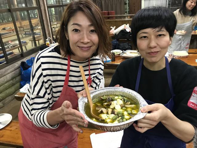 画像7: 椎茸とチーズのアヒージョ