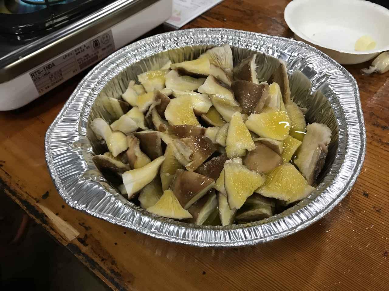 画像3: 椎茸とチーズのアヒージョ