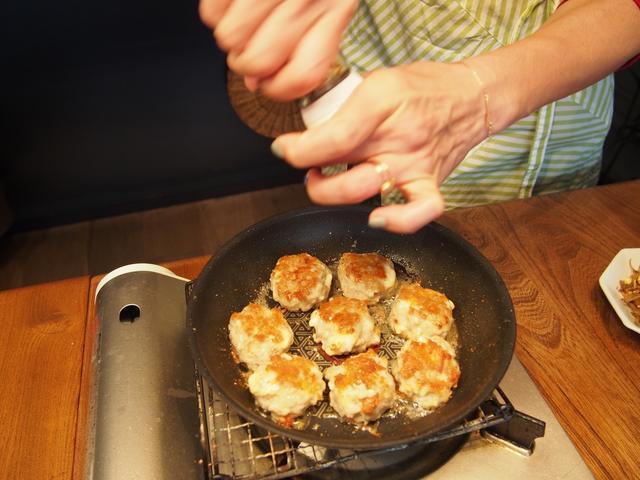 画像6: 山椒風味のチーズつくね