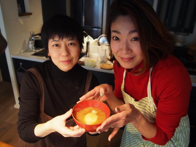 画像7: 卵とチーズの山椒味噌汁