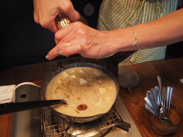 画像5: 山椒とチーズの白い麻婆豆腐
