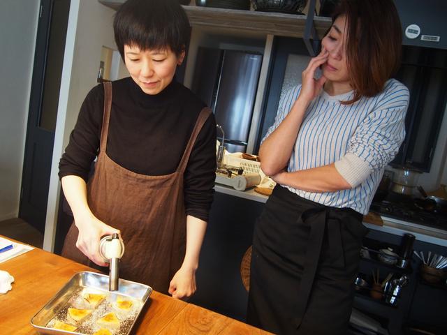 画像2: ナッツ風味のチーズのブリュレ
