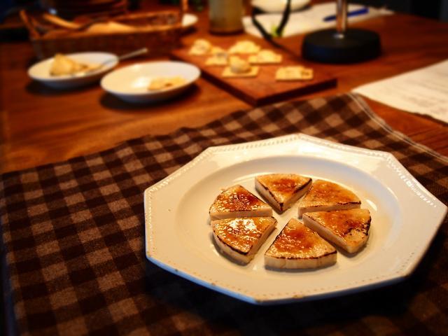 画像3: ナッツ風味のチーズのブリュレ