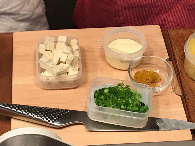 画像4: チーズ入りカレーポテトサラダ