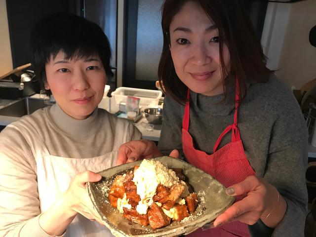 画像9: 厚揚げ豆腐のチキン南蛮風チーズタルタルかけ