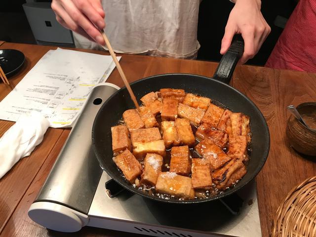 画像6: 厚揚げ豆腐のチキン南蛮風チーズタルタルかけ