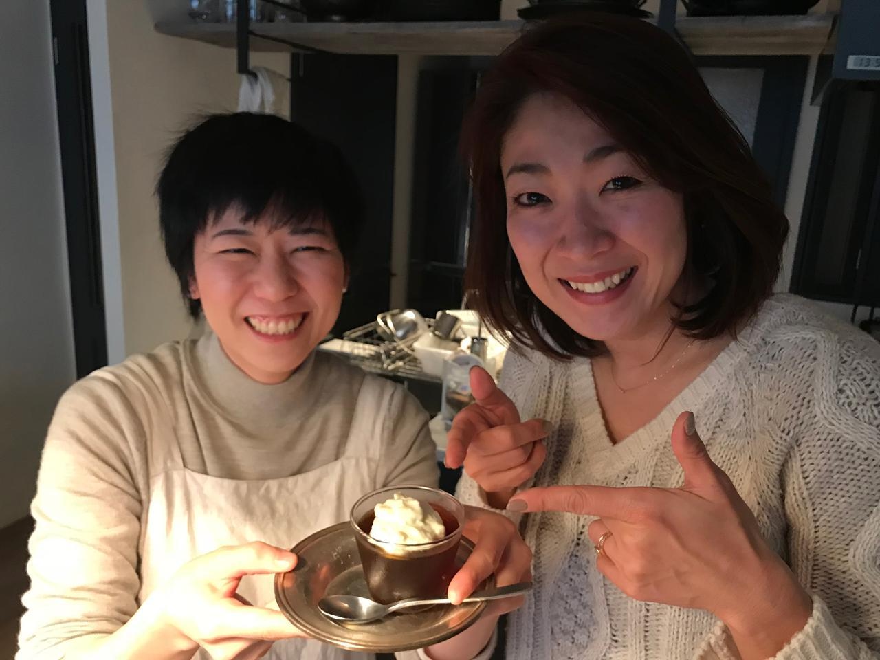 画像8: コーヒーゼリーとバニラチーズクリーム