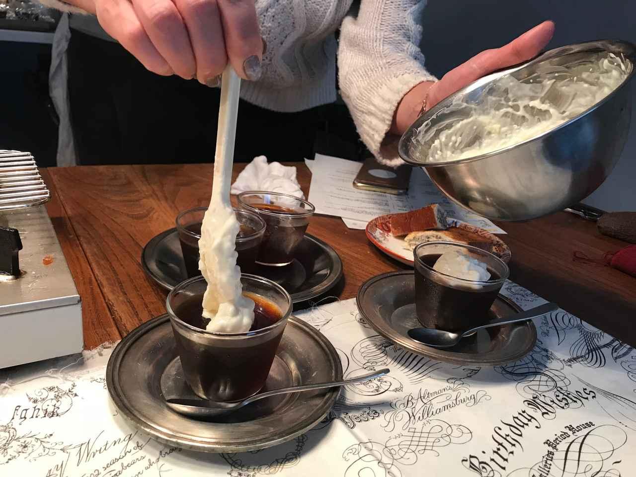 画像5: コーヒーゼリーとバニラチーズクリーム