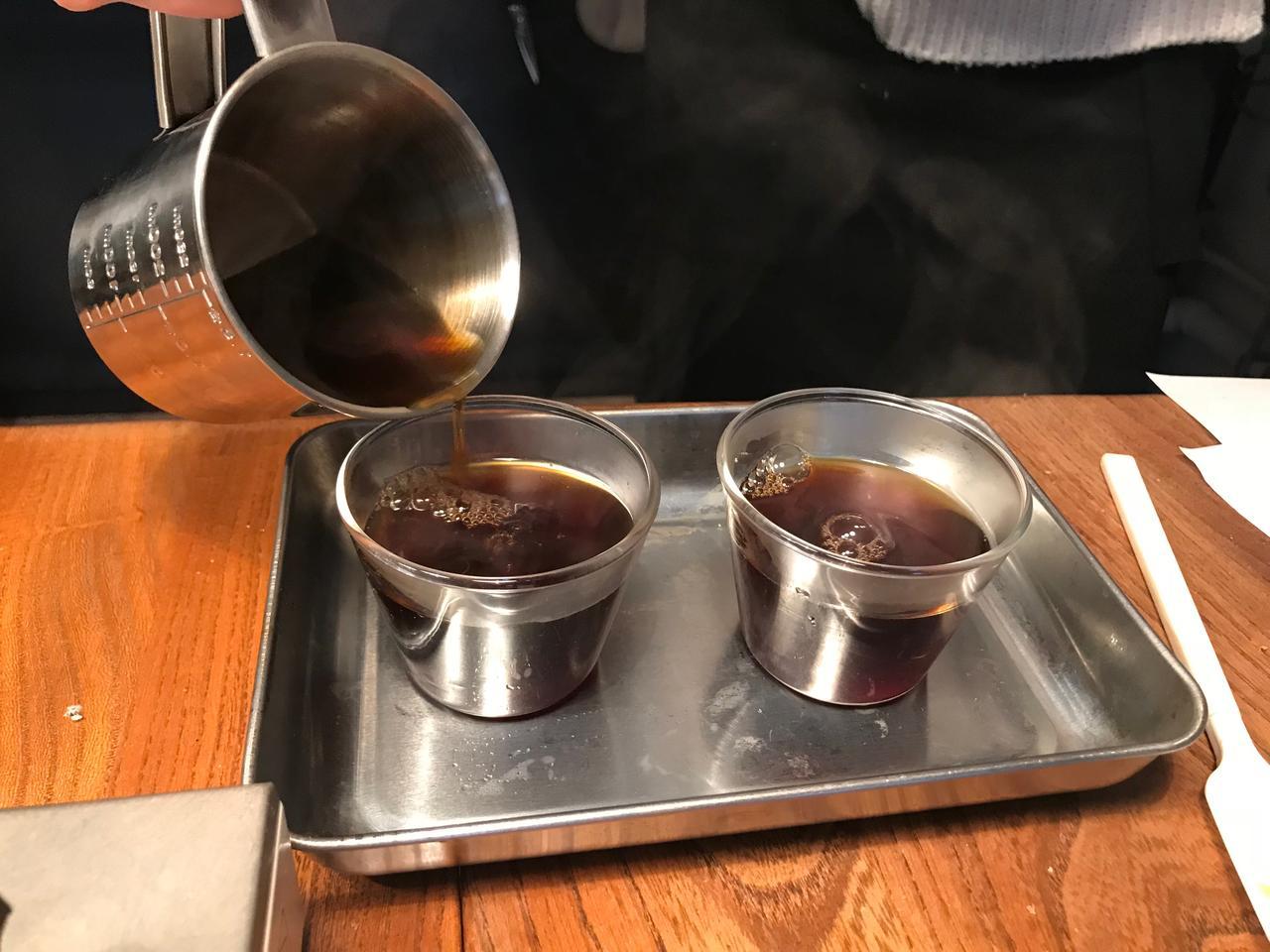 画像3: コーヒーゼリーとバニラチーズクリーム