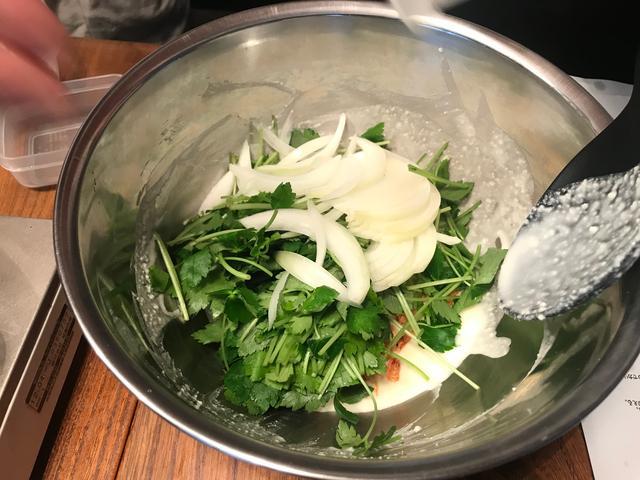 画像2: チーズのかき揚げ抹茶塩添え