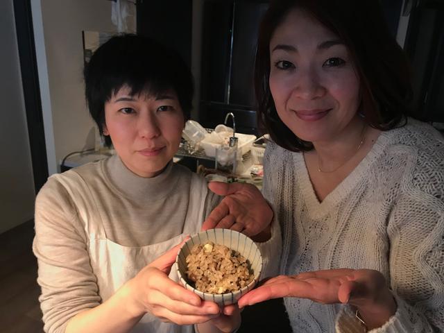 画像6: 煎り大豆とチーズのほうじ茶ごはん