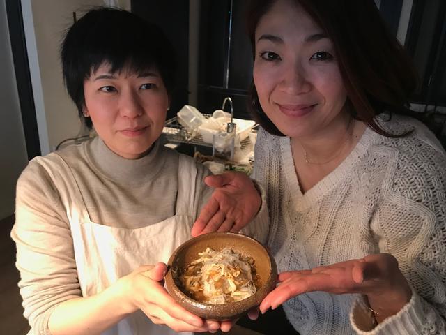 画像5: チーズ入りごはんの烏龍茶漬け