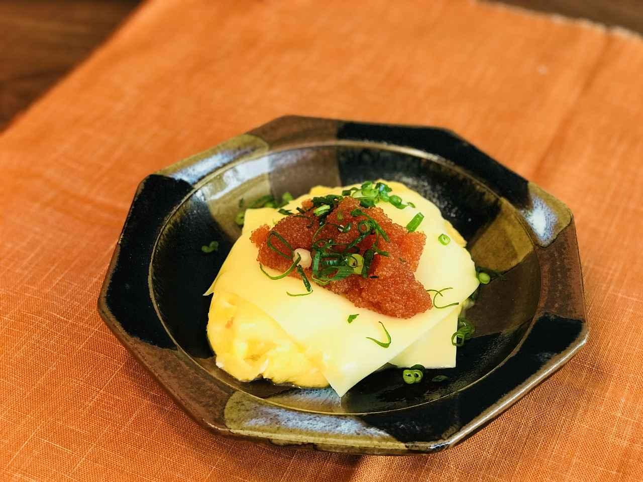 画像5: チーズオムレツのとびこのせ