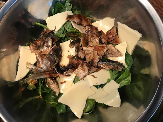 画像4: 鯵のぱりぱり揚げサラダ