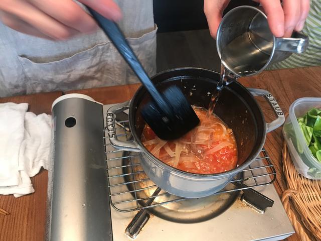 画像4: イカのチーズトマト煮
