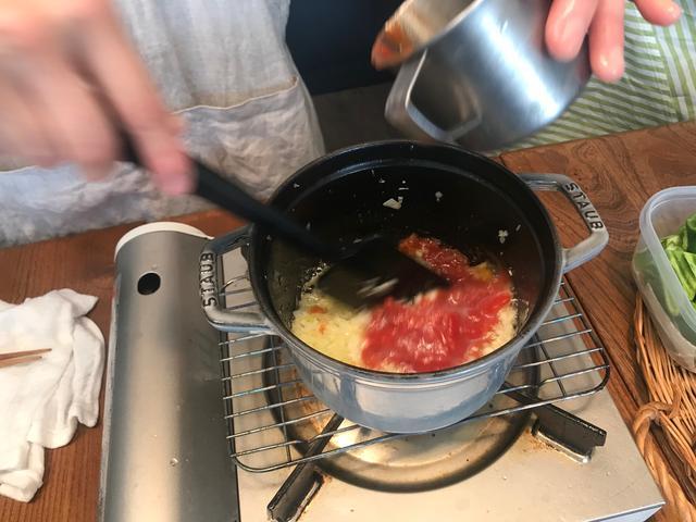 画像3: イカのチーズトマト煮