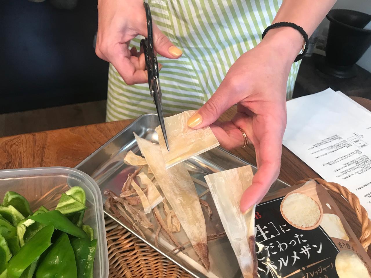 画像2: イカのチーズトマト煮
