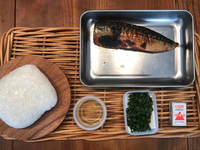画像1: サバのみりん干し焼きの チーズ入り棒寿司