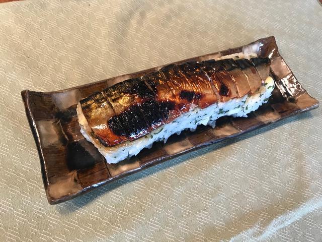 画像6: サバのみりん干し焼きの チーズ入り棒寿司