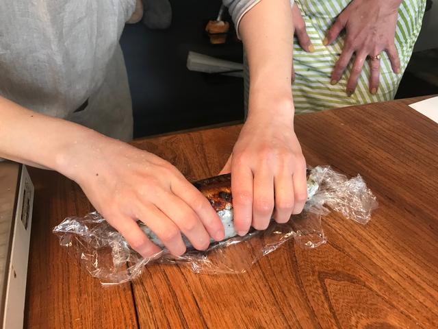 画像5: サバのみりん干し焼きの チーズ入り棒寿司
