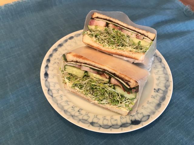 画像5: 焼き豚サンドイッチ
