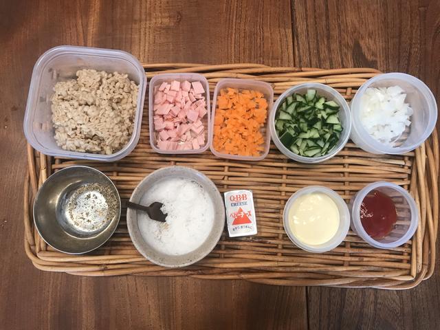 画像1: もち麦のサラダ
