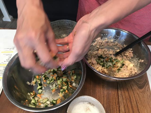画像4: もち麦のサラダ