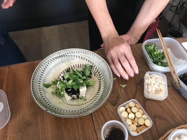 画像2: ヒジキと豆腐とチーズのトスサラダ