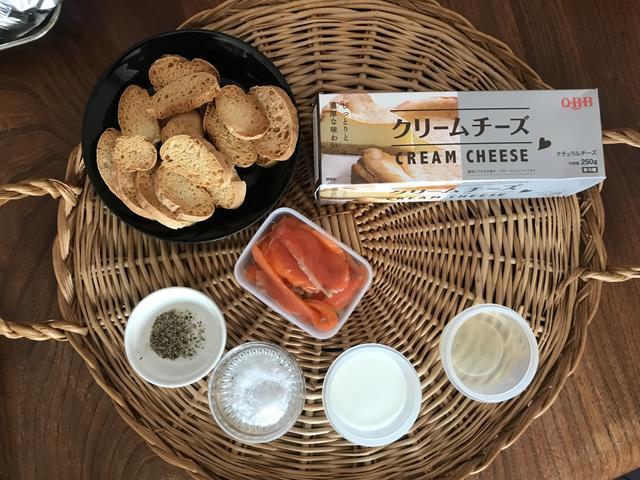 画像1: スモークサーモンとクリームチーズのディップ