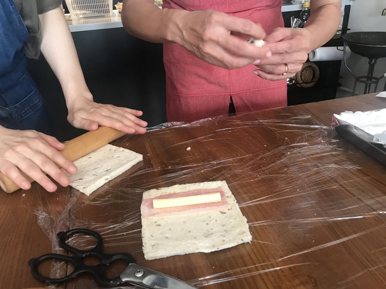 画像3: チーズとベーコンのエピ風パイ