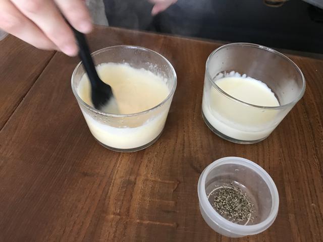 画像3: ウズラの水煮 スモークチーズディップ添え