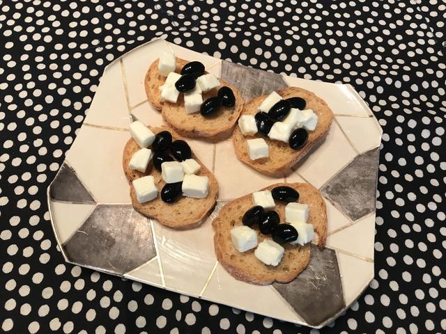 画像3: 黒豆チーズカナッペ