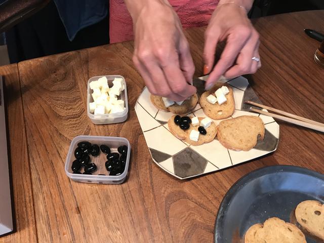 画像2: 黒豆チーズカナッペ