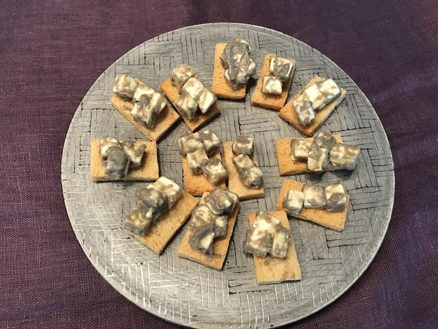 画像2: チーズのカニ味噌和え