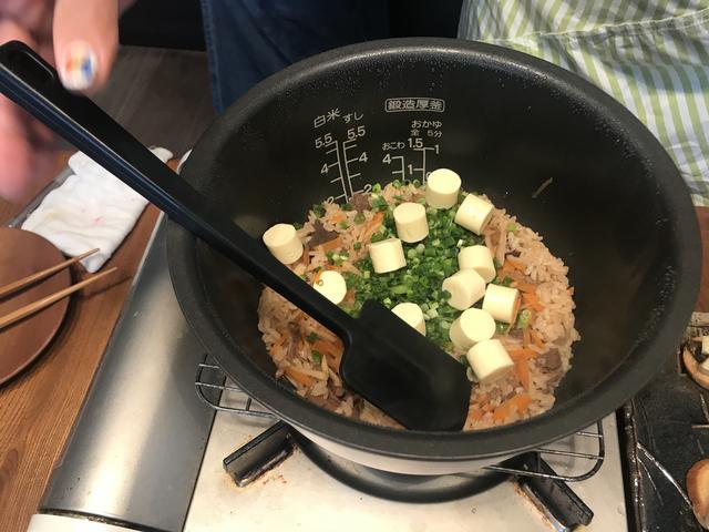 画像1: 鯨の炊き込みご飯チーズ混ぜ