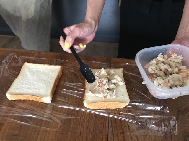 画像2: 卯の花チーズトースト
