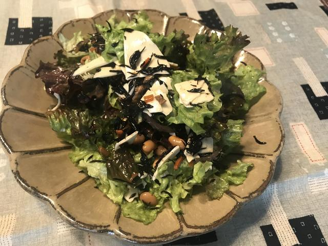 画像4: ヒジキとレタスのサラダ