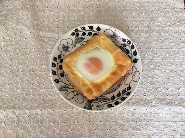 画像4: 目玉焼きチーズトースト