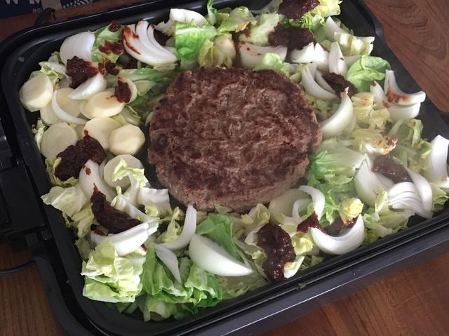 画像5: チーズハンバーグのダッカルビ