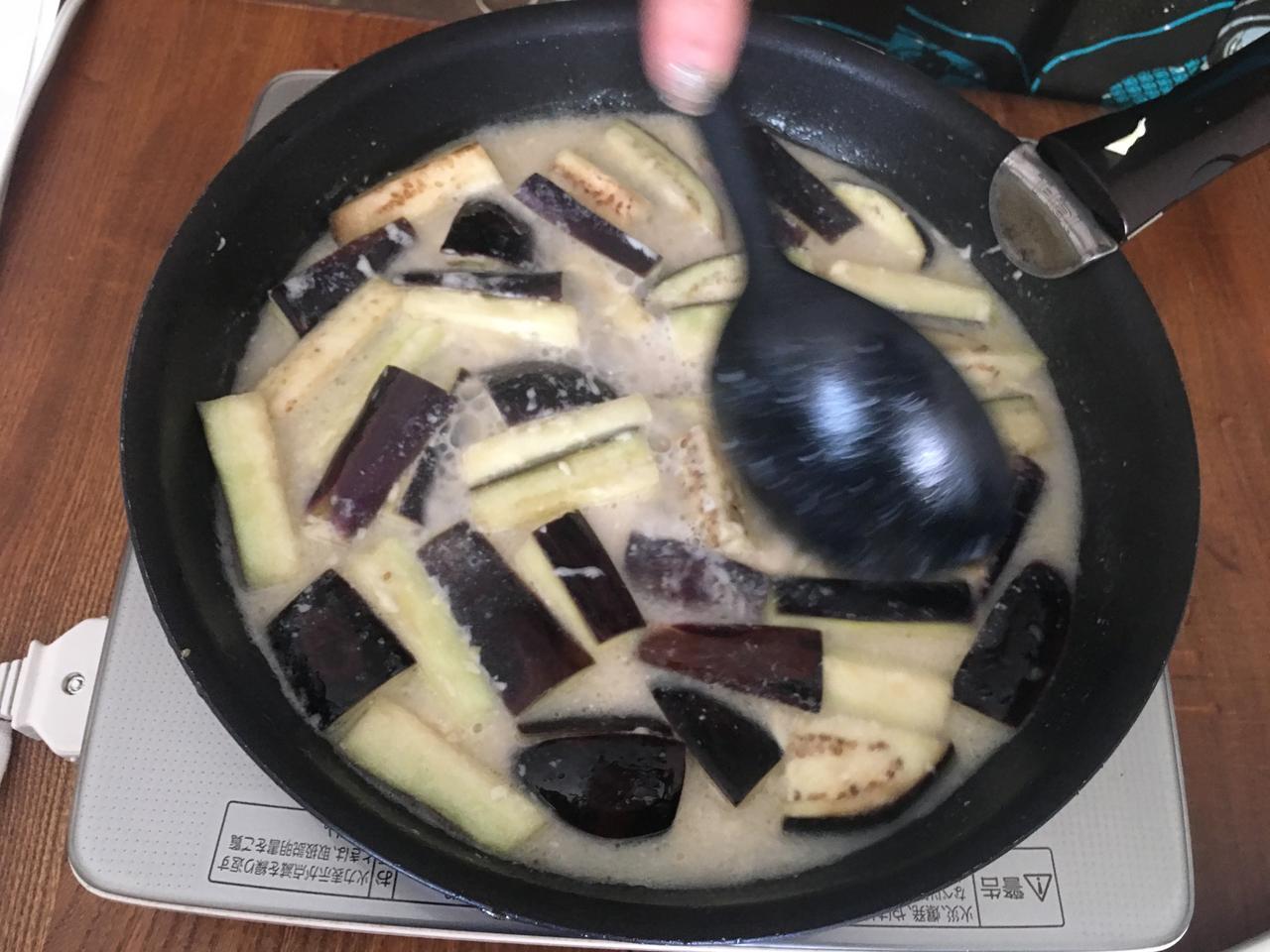 画像5: 茄子のアンチョビ&オリーブチーズ煮
