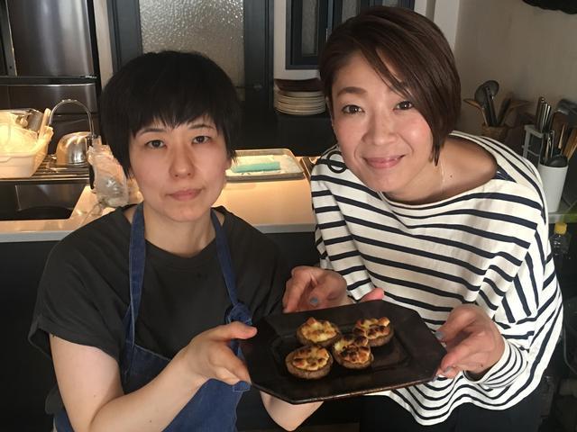 画像6: 椎茸のゴルゴンゾーラチーズ焼き