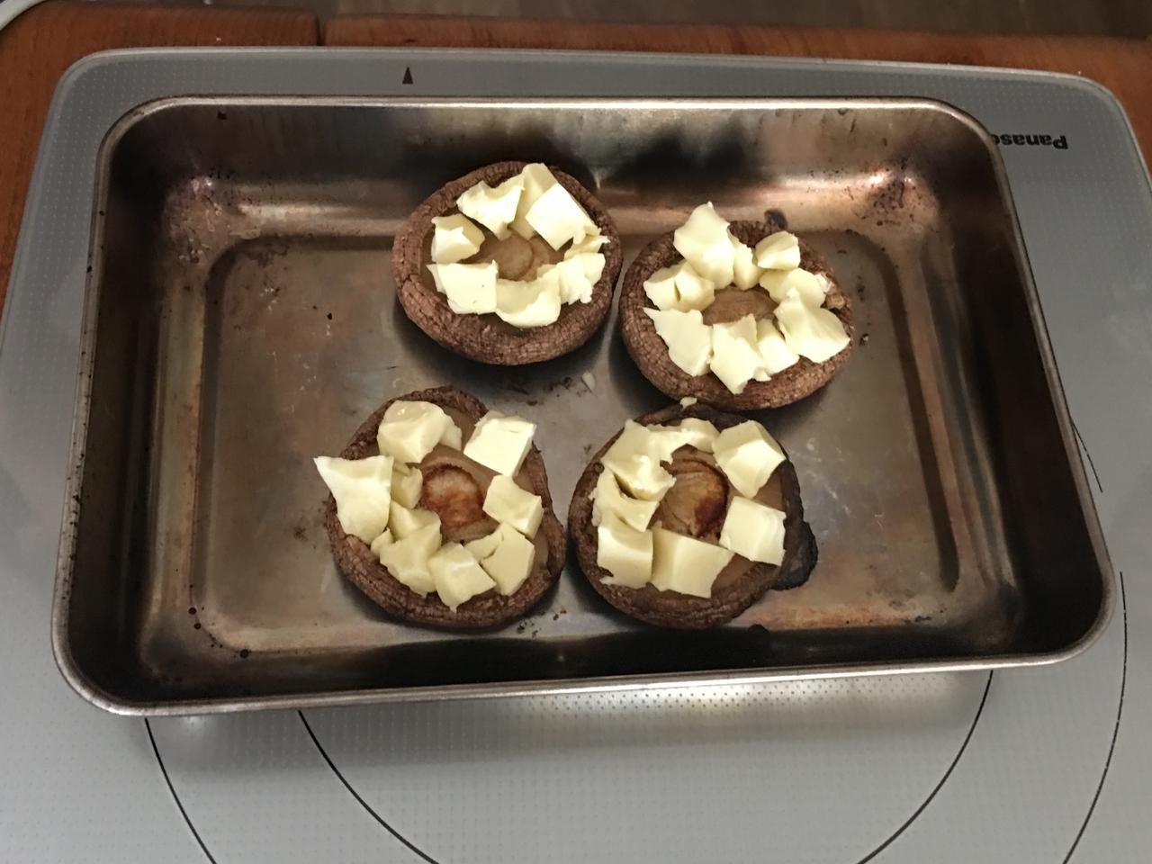 画像3: 椎茸のゴルゴンゾーラチーズ焼き