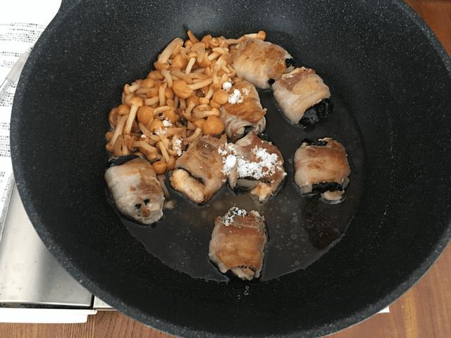 画像5: 餅チーズ肉巻きのなめこタレかけ
